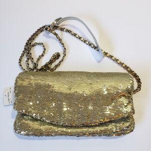 Party clutch crossbody sequins mini bag